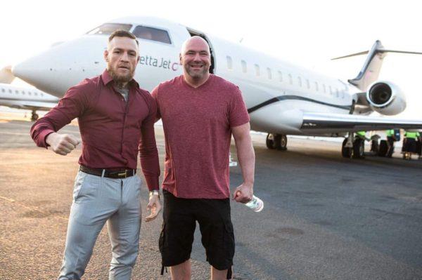 Dana White Conor McGregor
